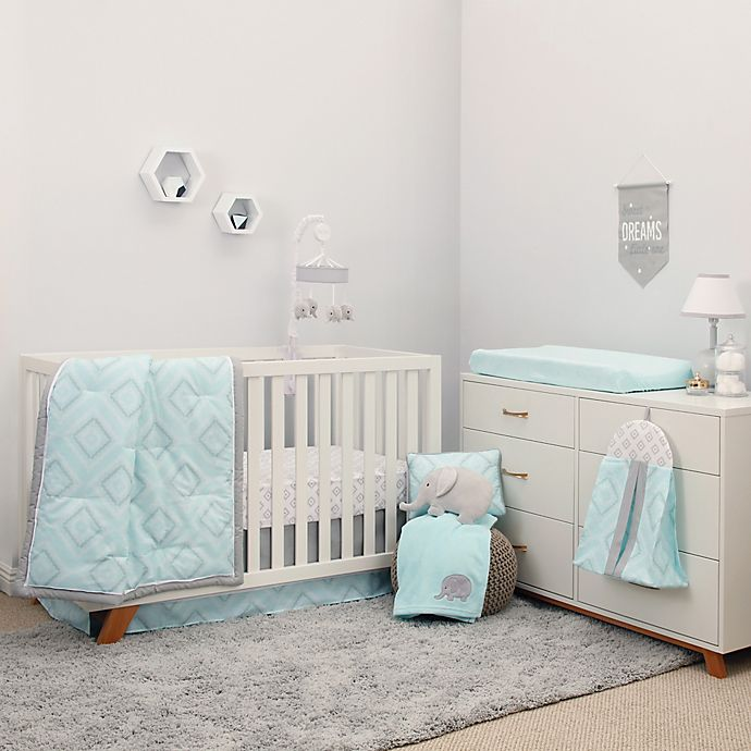 Alternate image 1 for NoJo® Dreamer Diamond Crib Bedding Collection in Mint