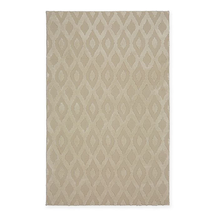 Alternate image 1 for Mohawk Home® Loft Ash Ogee Area Rug in Linen