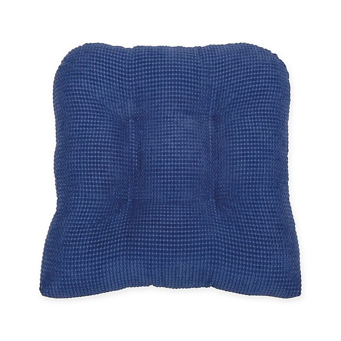 Alternate image 1 for Therapedic® Tyler Chair Pad in Navy