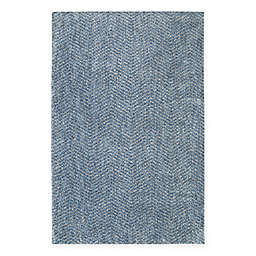 Mohawk Home® Laguna Clinton 5-Foot x 8-Foot Area Rug in Blue
