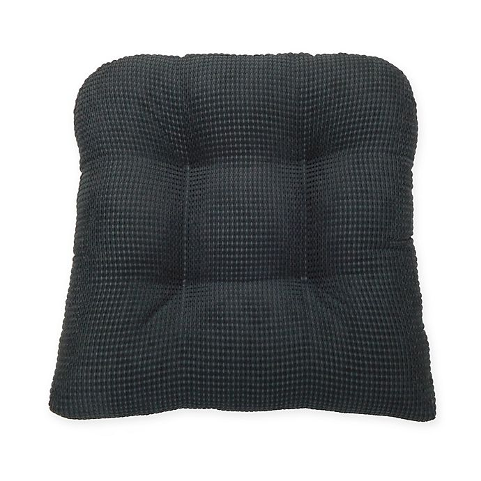 Alternate image 1 for Therapedic® Tyler Chair Pad in Black