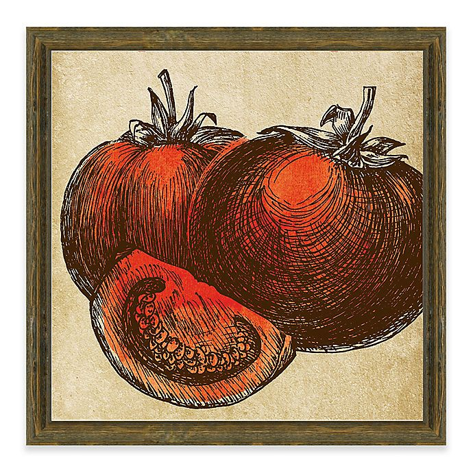 Kitchen Wall Decor Bed Bath And Beyond: Tomatoes Framed Giclée Wall Art