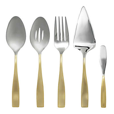 Gourmet Settings Moments Eternity 5-Piece Hostess Set in Gold