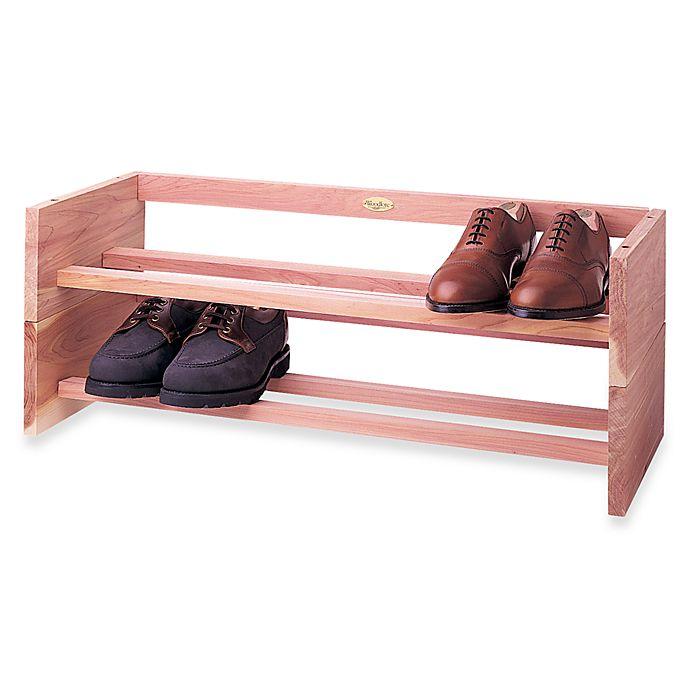Alternate image 1 for Woodlore Shoe Rack