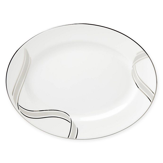 Alternate image 1 for kate spade new york Lacey Drive™ Oval Platter