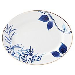 kate spade new york Birch Way™ Oval Platter in Indigo