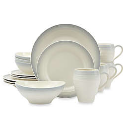 Mikasa® Swirl Ombre 16-Piece Dinnerware Set in Grey