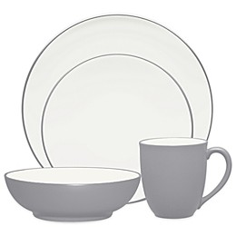 Noritake® Colorwave Coupe 4-Piece Place Setting in Slate