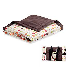 Tuffo Water-Resistant Outdoor Blanket in Brown/Multi