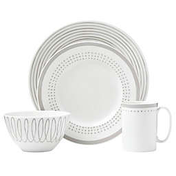 kate spade new york Charlotte Street™ East 4-Piece Place Setting in Grey