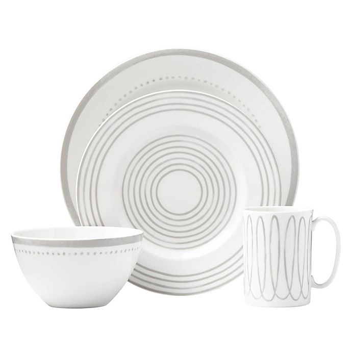Alternate image 1 for kate spade new york Charlotte Street™ West Dinnerware Collection in Grey