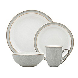 Denby Elements Dinnerware Collection in Light Grey