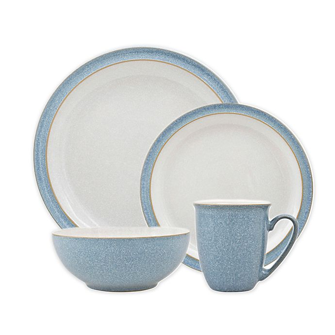 Alternate image 1 for Denby Elements Dinnerware Collection in Blue