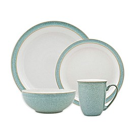 Denby Elements 4-Piece Place Setting in Green