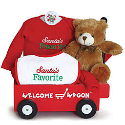 """Silly Phillie Creations 5-Piece """"Santa's Favorite"""" Welcome Wagon Gift Set"""