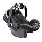 Itzy Ritzy® Ritzy Wrap™ Infant Car Seat Handle Arm Cushion in XOXO Black/White