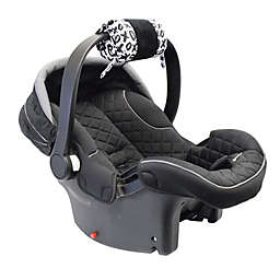 Itzy Ritzy® Ritzy Wrap™ Infant Car Seat Handle Arm Cushion in XOXO Black/White
