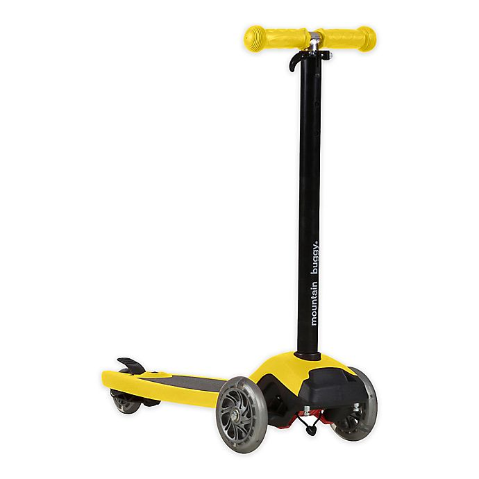 Alternate image 1 for Mountain Buggy® freerider™ Stroller Board And Scooter in Yellow