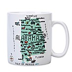 My Place  Alabama  Jumbo Mug