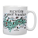My Place  Michigan Upper Peninsula  Jumbo Mug