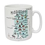 My Place  Mississippi  Jumbo Mug