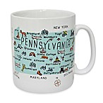 My Place  Pennsylvania  Jumbo Mug