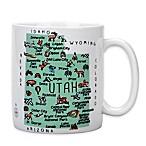My Place  Utah  Jumbo Mug