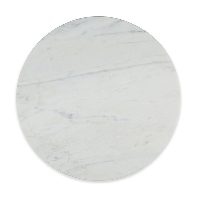 Artisanal Kitchen Supply Straight Edge Marble Lazy Susan Bed Bath Beyond