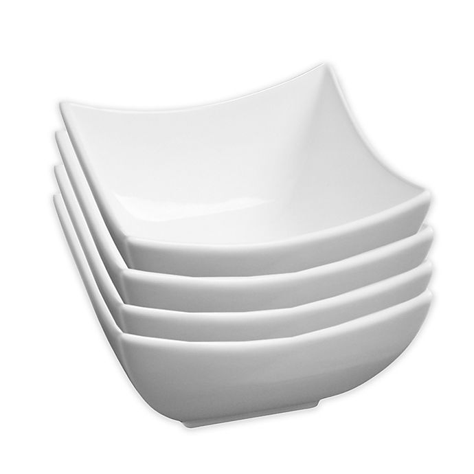 Alternate image 1 for Fortessa® Accentz Fiji 5.75-Inch Square Bowls (Set of 4)