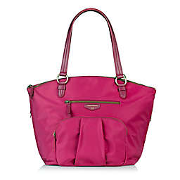 TWELVElittle Allure Dome Satchel Diaper Bag in Pink