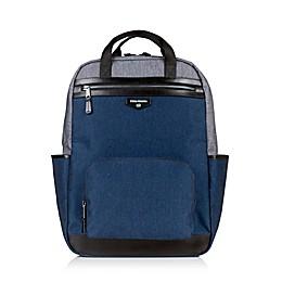 TWELVElittle Unisex Courage Backpack Diaper Bag in Grey/Navy