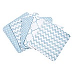 Trend Lab® 5-Pack Blue Sky Washcloths
