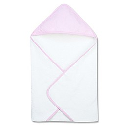 Trend Lab® Gingham Seersucker Deluxe Hooded Towel in Pink