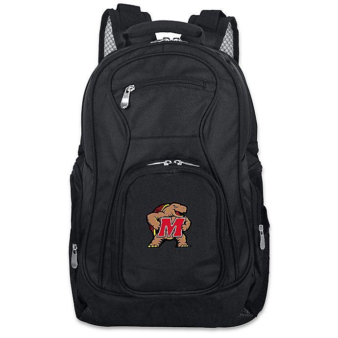 Alternate image 1 for Mojo Premium University of Maryland 19-Inch Laptop Backpack