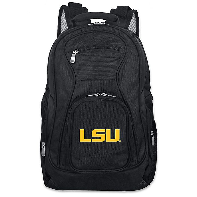 Alternate image 1 for Mojo Premium Louisiana State University 19-Inch Laptop Backpack