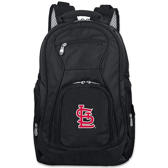 Alternate image 1 for MLB St. Louis Cardinals 19-Inch Laptop Backpack