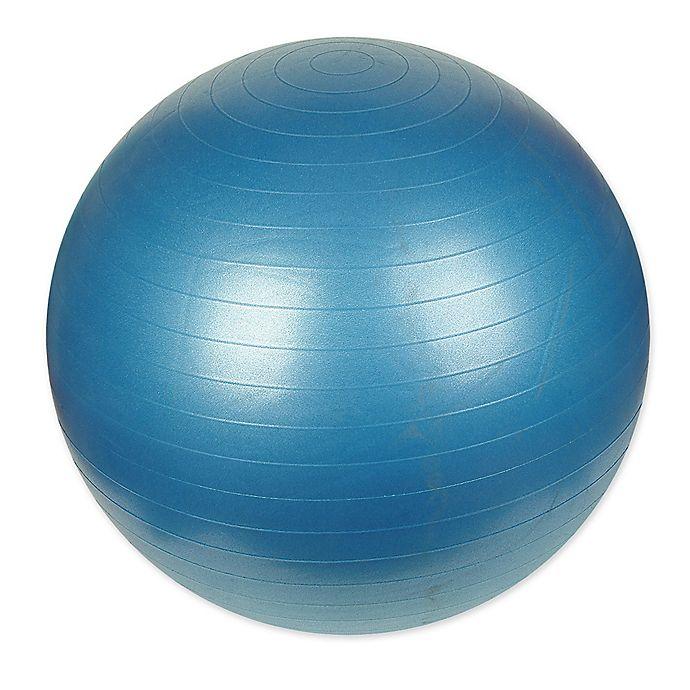 Alternate image 1 for Sunny Health & Fitness® 75cm Anti-Burst Gym Ball in Blue