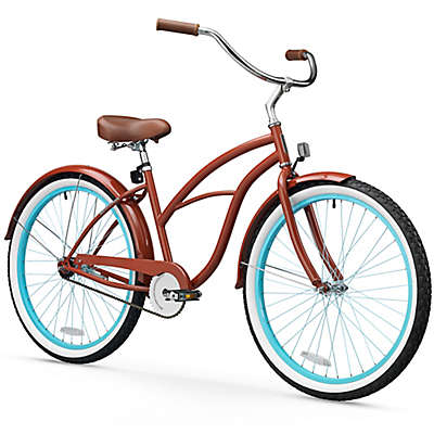 "sixthreezero Women's Classic Edition 26"" Single Speed Beach Cruiser Bicycle"