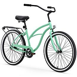 """sixthreezero  Women's Around the Block 26"""" Single Speed Beach Cruiser Bicycle"""