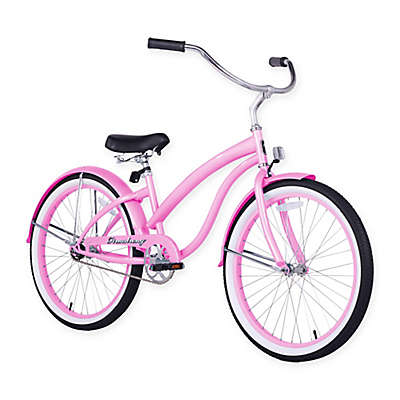 """Firmstrong Bella Classic 24"""" Single Speed Beach Cruiser Bicycle"""