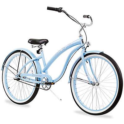 "Firmstrong Bella Classic 26"" Three Speed Beach Cruiser Bicycle"