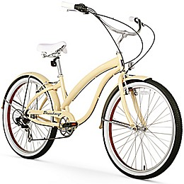 """Firmstrong Bella Fashionista 26"""" Seven Speed Beach Cruiser Bicycle"""