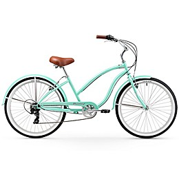 """Firmstrong Chief Lady 26"""" Seven Speed Beach Cruiser Bicycle"""