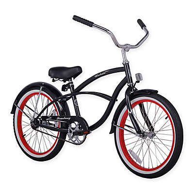 "Firmstrong Urban Boy 20"" Single Speed Beach Cruiser Bicycle"