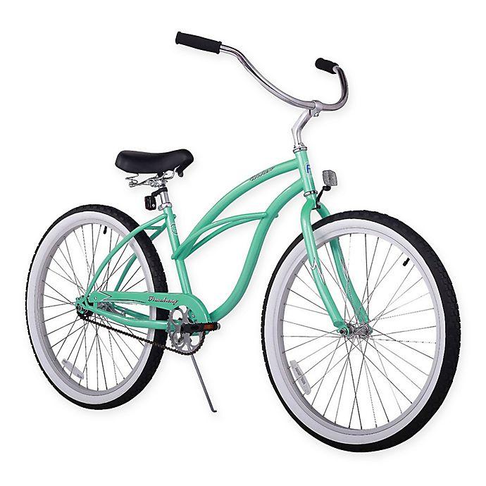 """Beach Cruiser Bike 24/"""" Beach Cruiser Bicycle Cycling Steel Sturdy Aluminum"""