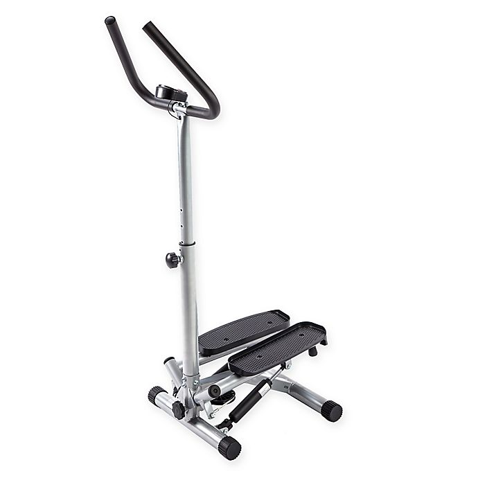 Alternate image 1 for Sunny Health & Fitness®Twist Stepper with Handlebars