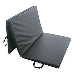 Sunny Health & Fitness® Folding Gym Mat in Black