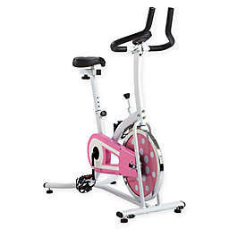 Sunny Health & Fitness® Indoor Cycling Bike in Pink