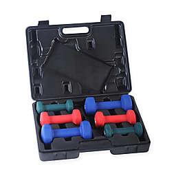 Sunny Health & Fitness® 6-Piece Neoprene Dumbbell Set