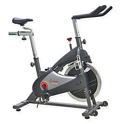 Sunny Health & Fitness® Chain Drive Indoor Cycling Bike in Grey